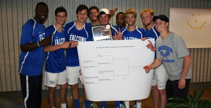 Men's Tennis wins third-consecutive NAC title, advances to NCAAs