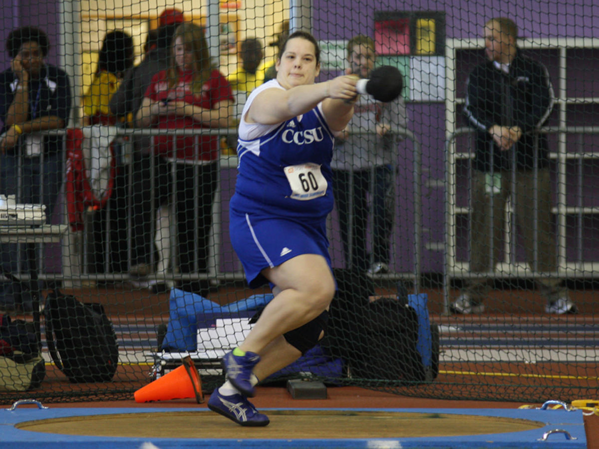 Kelley Breaks Shot Put Record at Sorlein Invitational