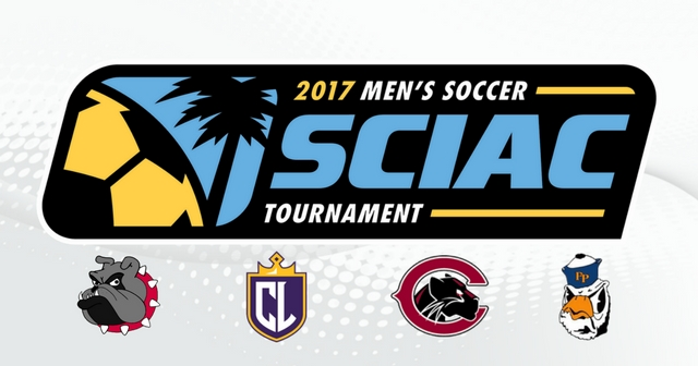 The 2017 SCIAC Men's Soccer Tournament Field is Set
