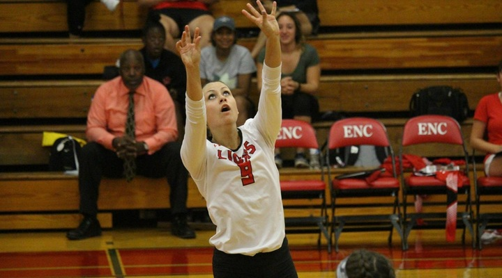 Women's Volleyball Falls in Five Sets to Suffolk