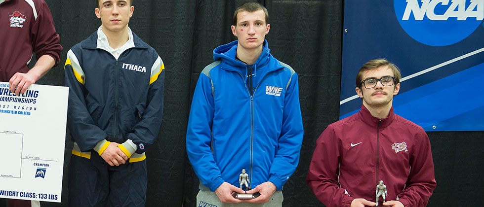 Sisco Earns All-Region Honors at NCAA Northeast Championship