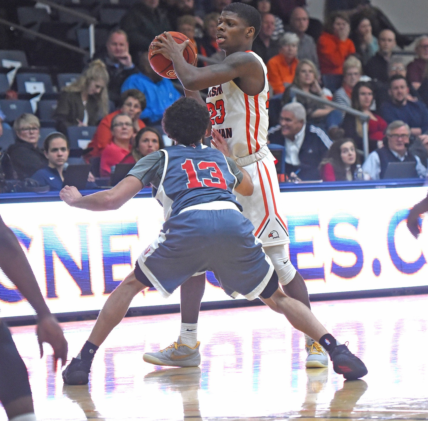 Carson-Newman tries to right ship against up-tempo Wolves