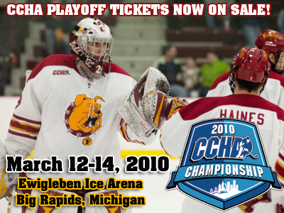 Ferris State To Host CCHA Playoff Second-Round Series