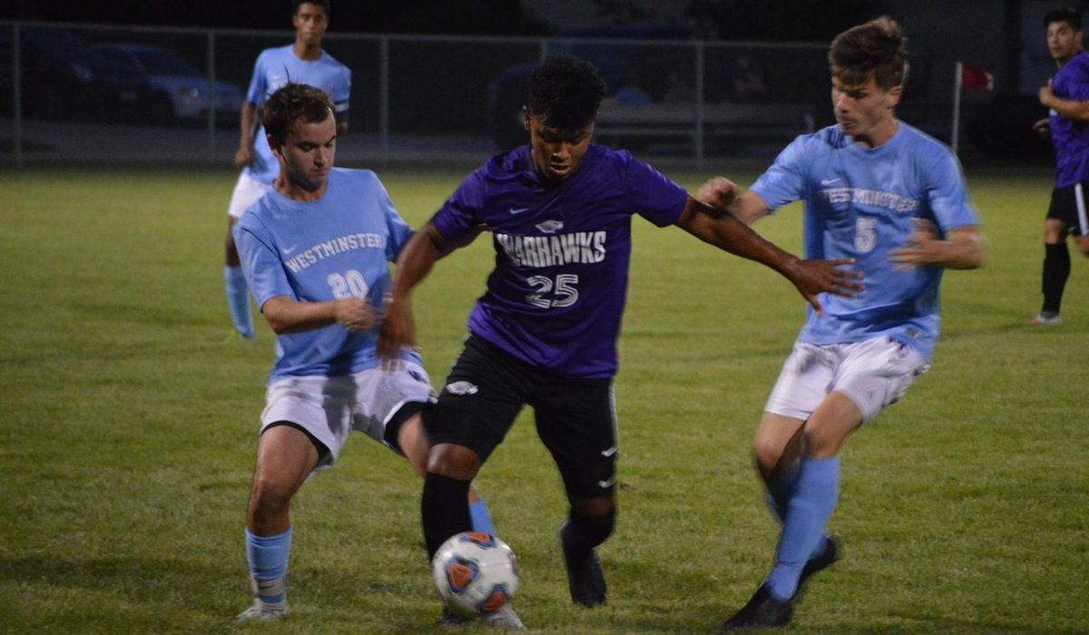 Westminster Men's Soccer Scores Twice in Loss to Wisconsin-Whitewater