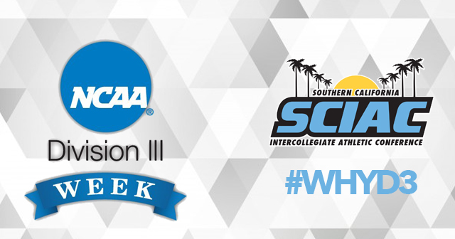 SCIAC Institutions Celebrate NCAA Division III Week