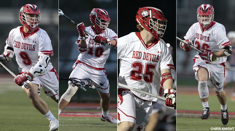 Men's Lacrosse Earns 10 All-Conference Selections
