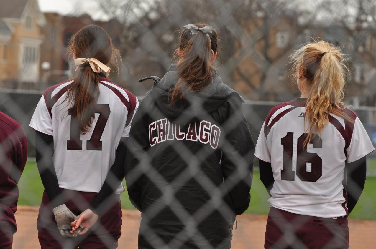 UChicago Softball vs  Illinois Wesleyan, 4-16-2013 - The