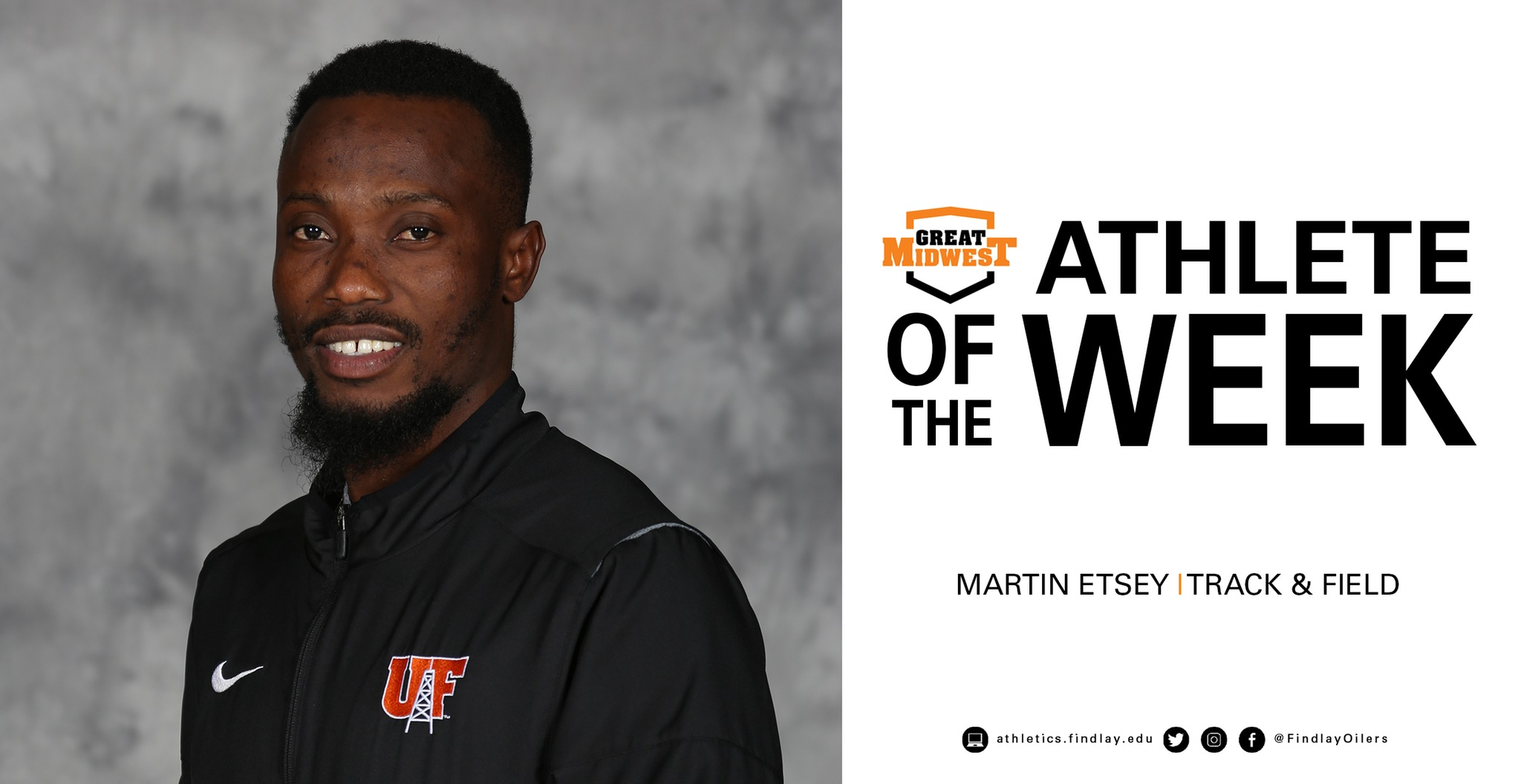 Etsey Earns Great Midwest Field Athlete of the Week