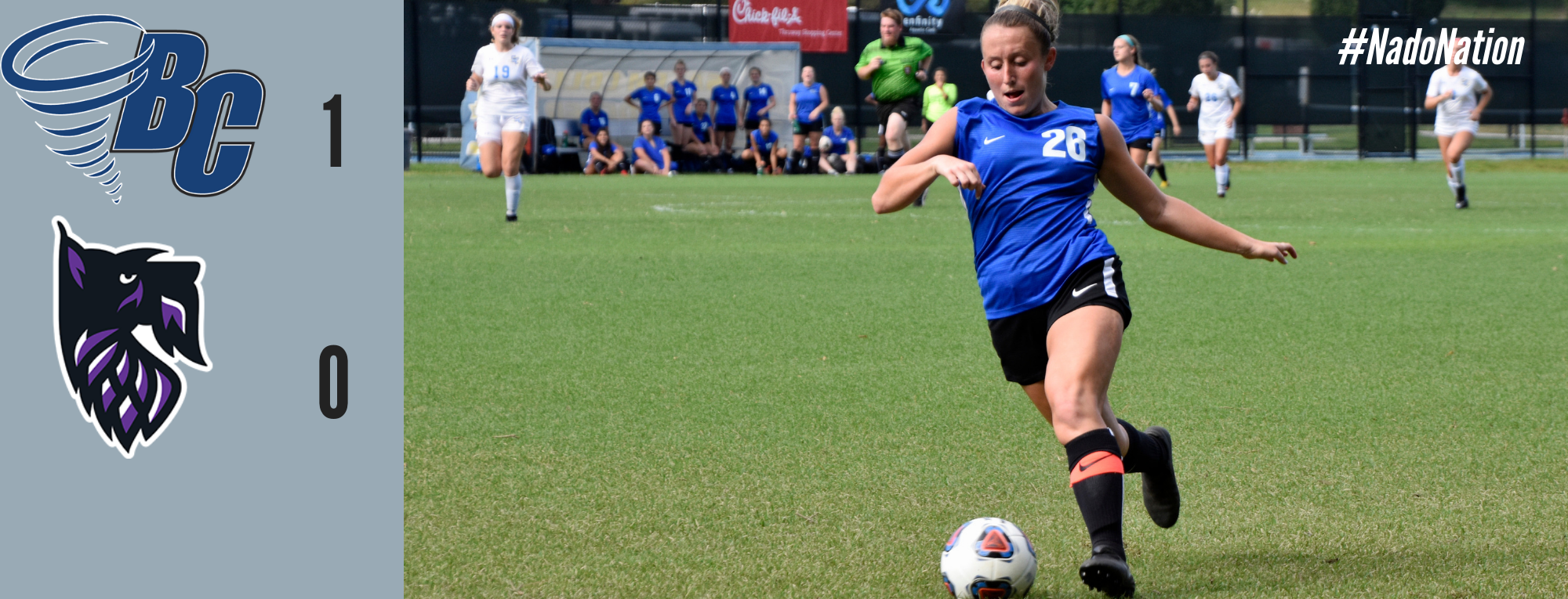 Women's Soccer Extends Win Streak Behind Late Goal From Megan Shina