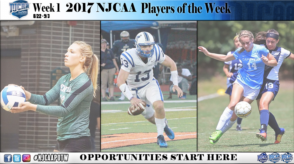 Players of the Week 1