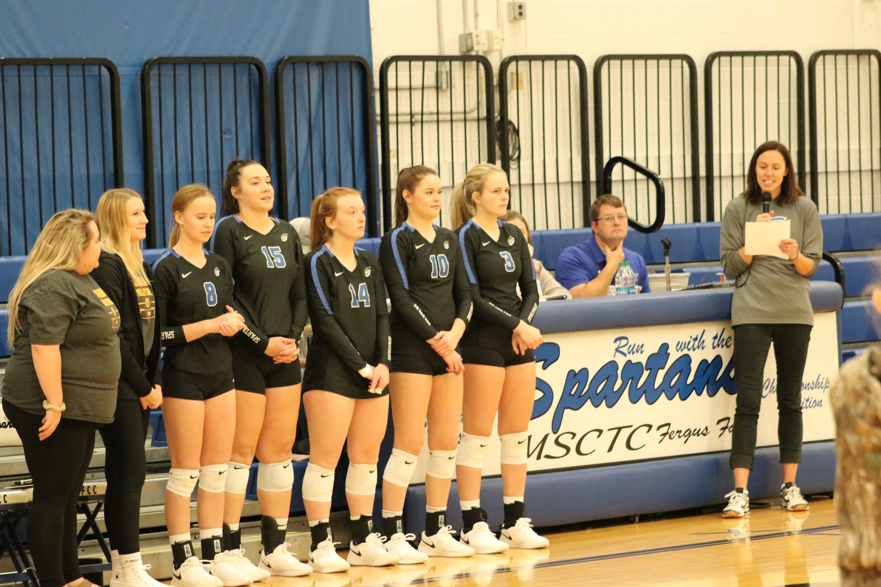 #5 M State Volleyball Team Concludes Regular Season With Victory Over Minnesota West.