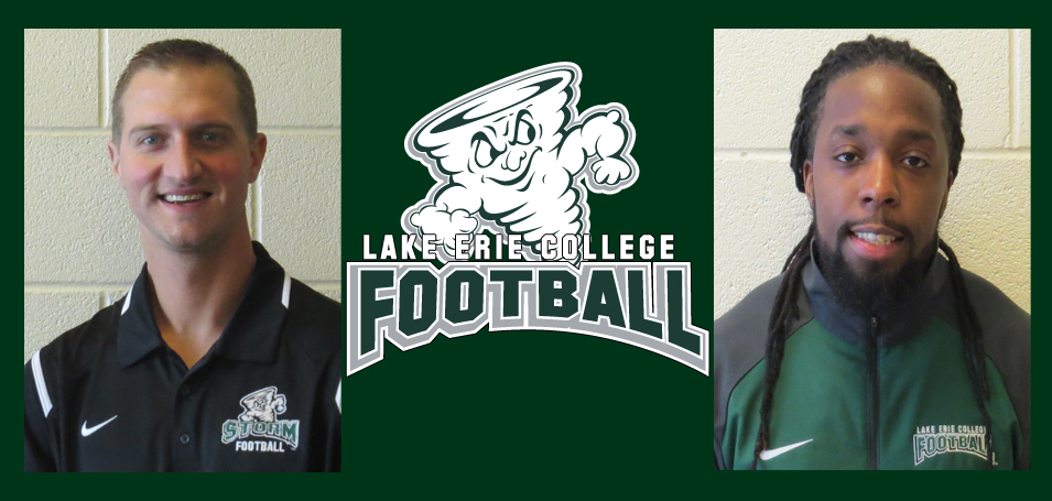 Storm Adds Two to Football Coaching Staff