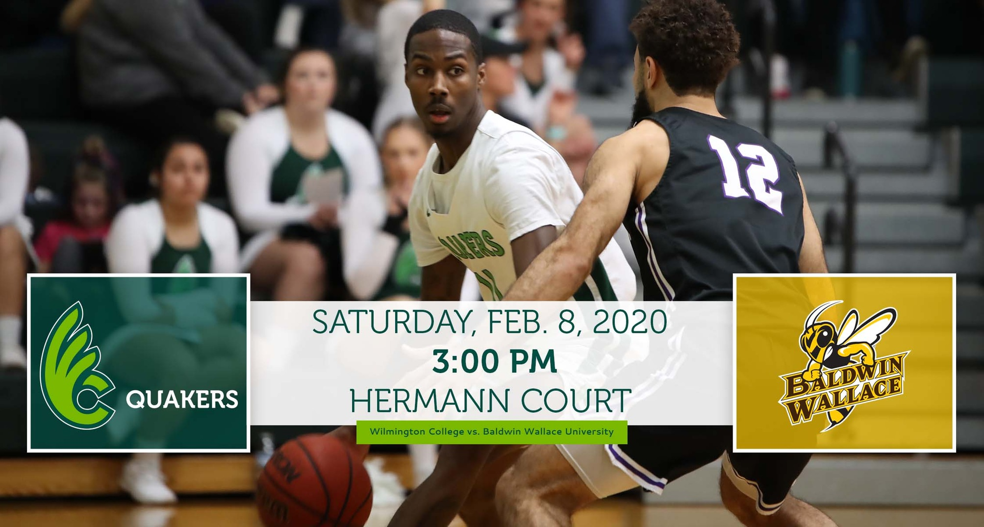 Men's Basketball Hosts Baldwin Wallace on Saturday