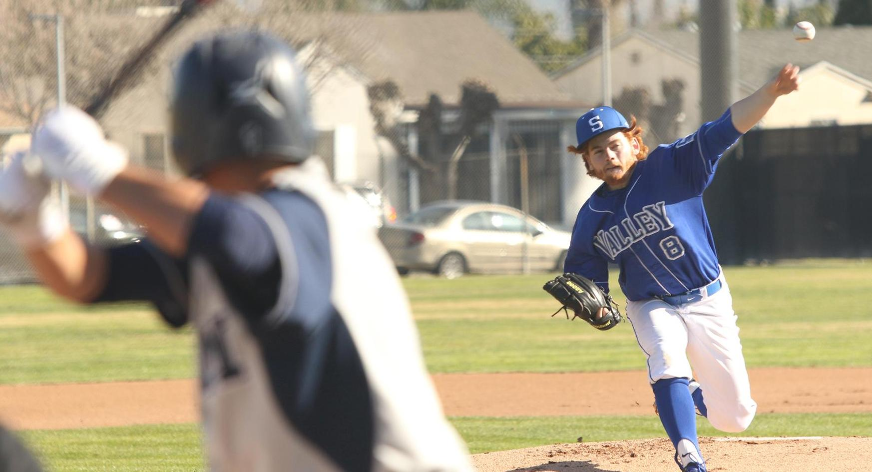 SBVC Baseball comes back to tie, as game is called versus Owls, 5-5