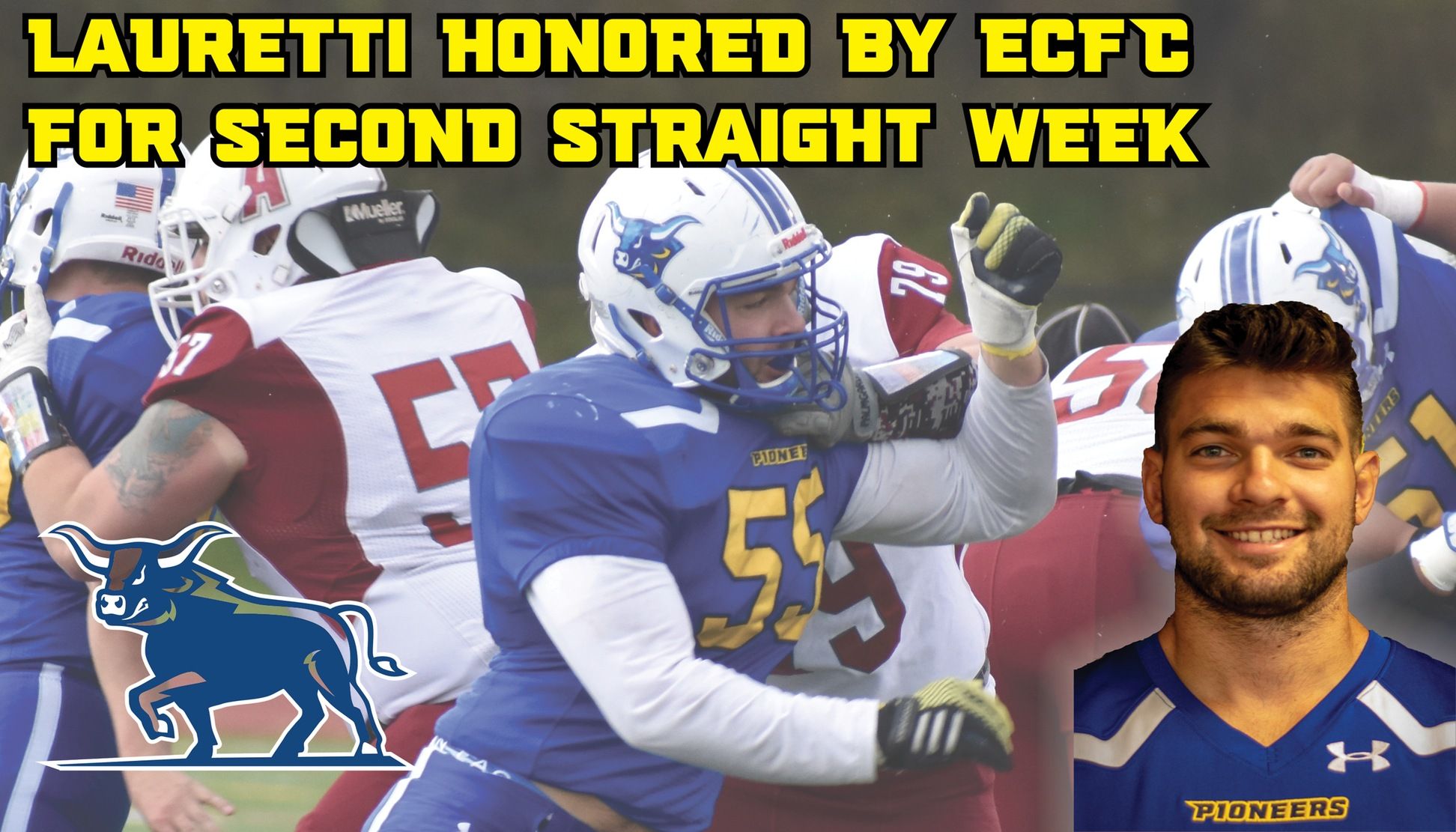 John Lauretti named ECFC Defensive Player of the Week