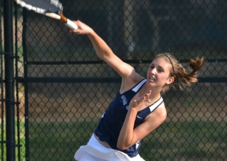 Raulston Tops Third Straight All-American in Singles as UMW Women's Tennis Tops Swarthmore, 9-0