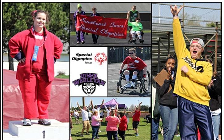 Iowa Wesleyan SAAC Hosts Southeast Iowa Special Olympics Spring Games