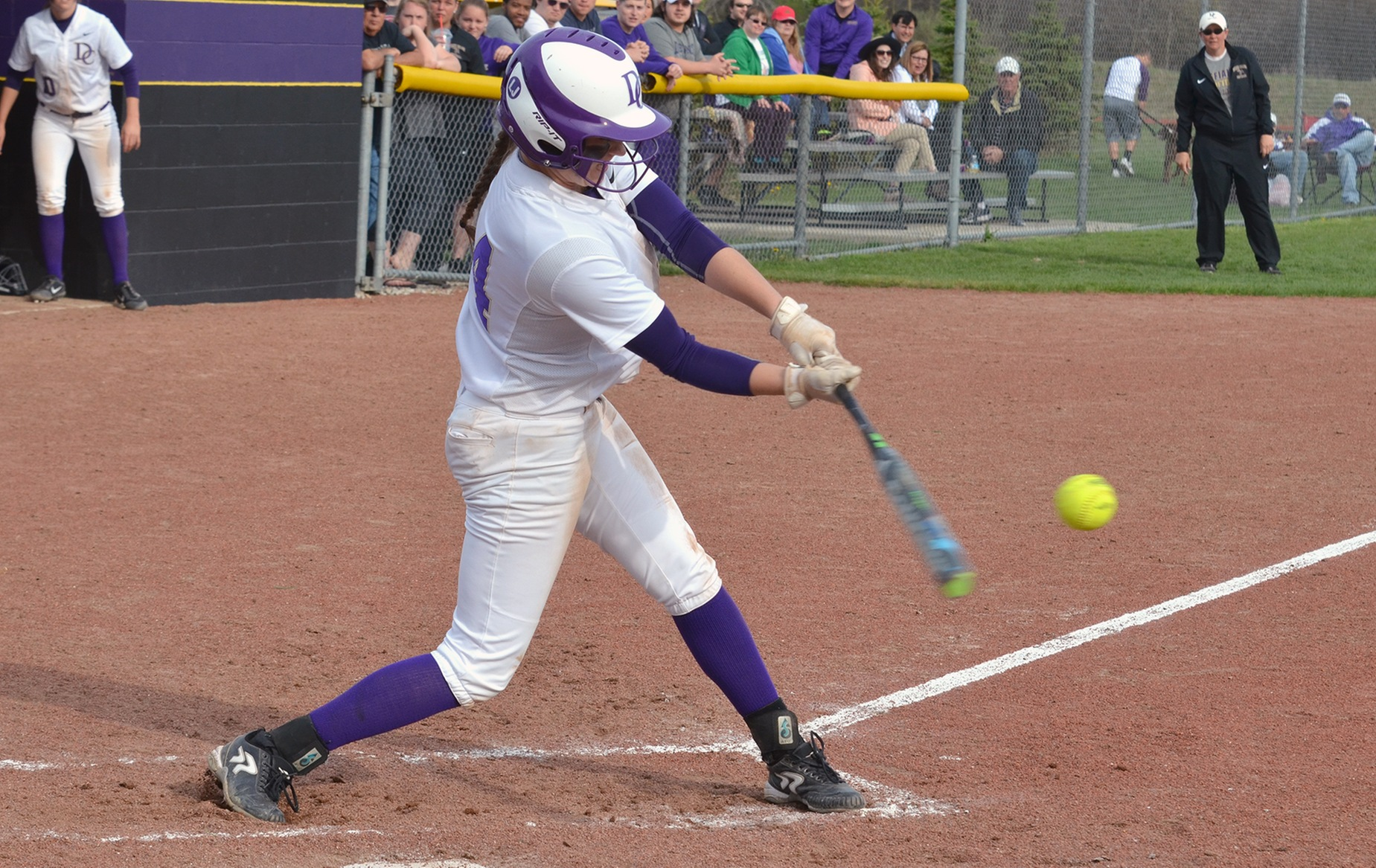 Softball Ends Regular Season with Pair of Wins