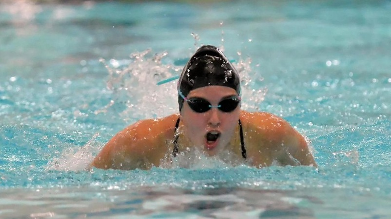 Bentley Women Swim Past Brandeis for 25th Consecutive Victory