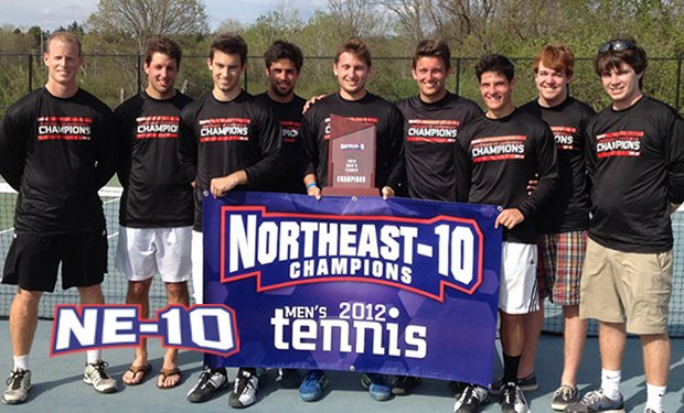 Merrimack Claims First Men's Tennis Championship in School History