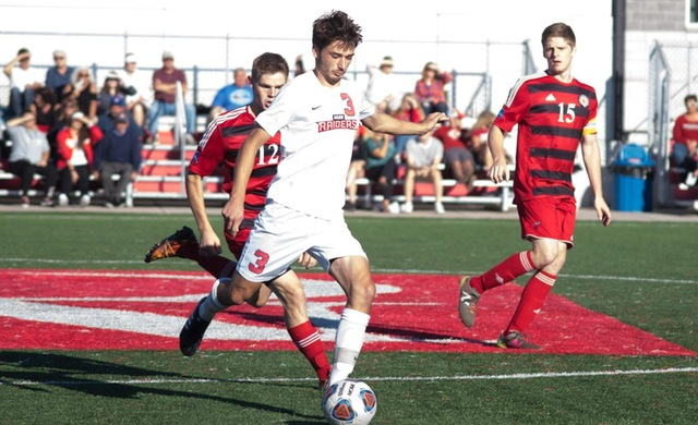 Schauer Scores Twice in Win at Benedictine
