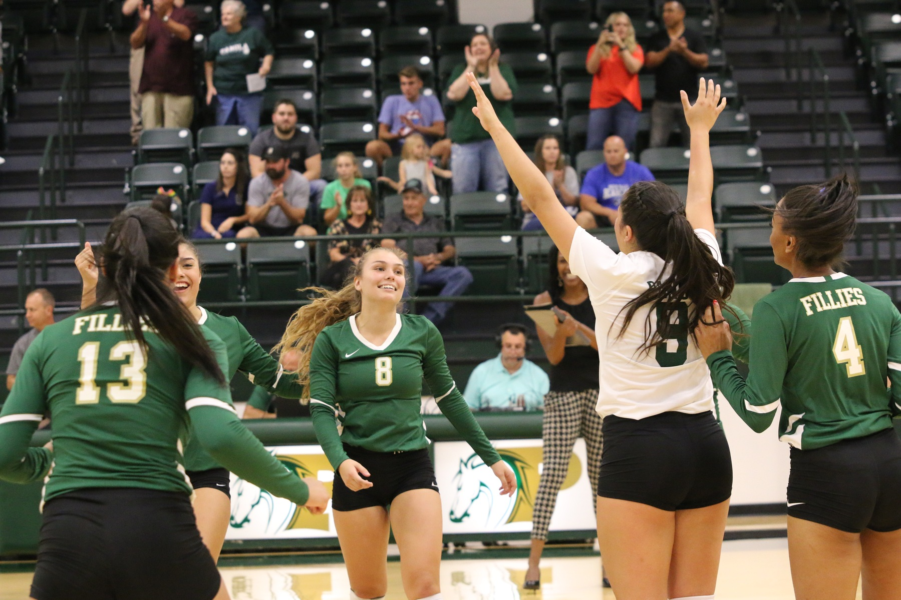 Fillies Open Season with Sweep of North Lake College