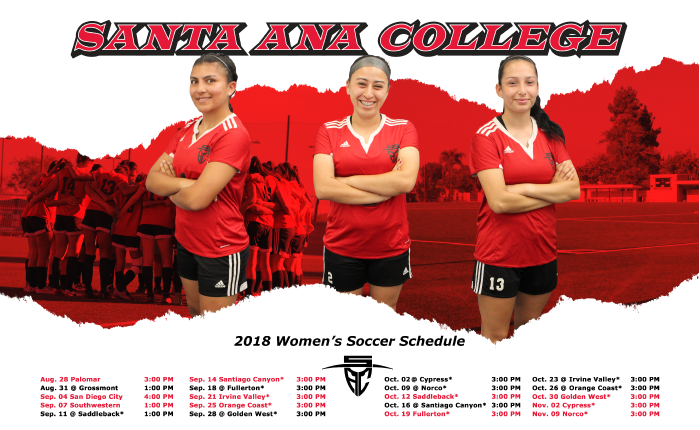 2018 Santa Ana Women's Soccer Season Preview