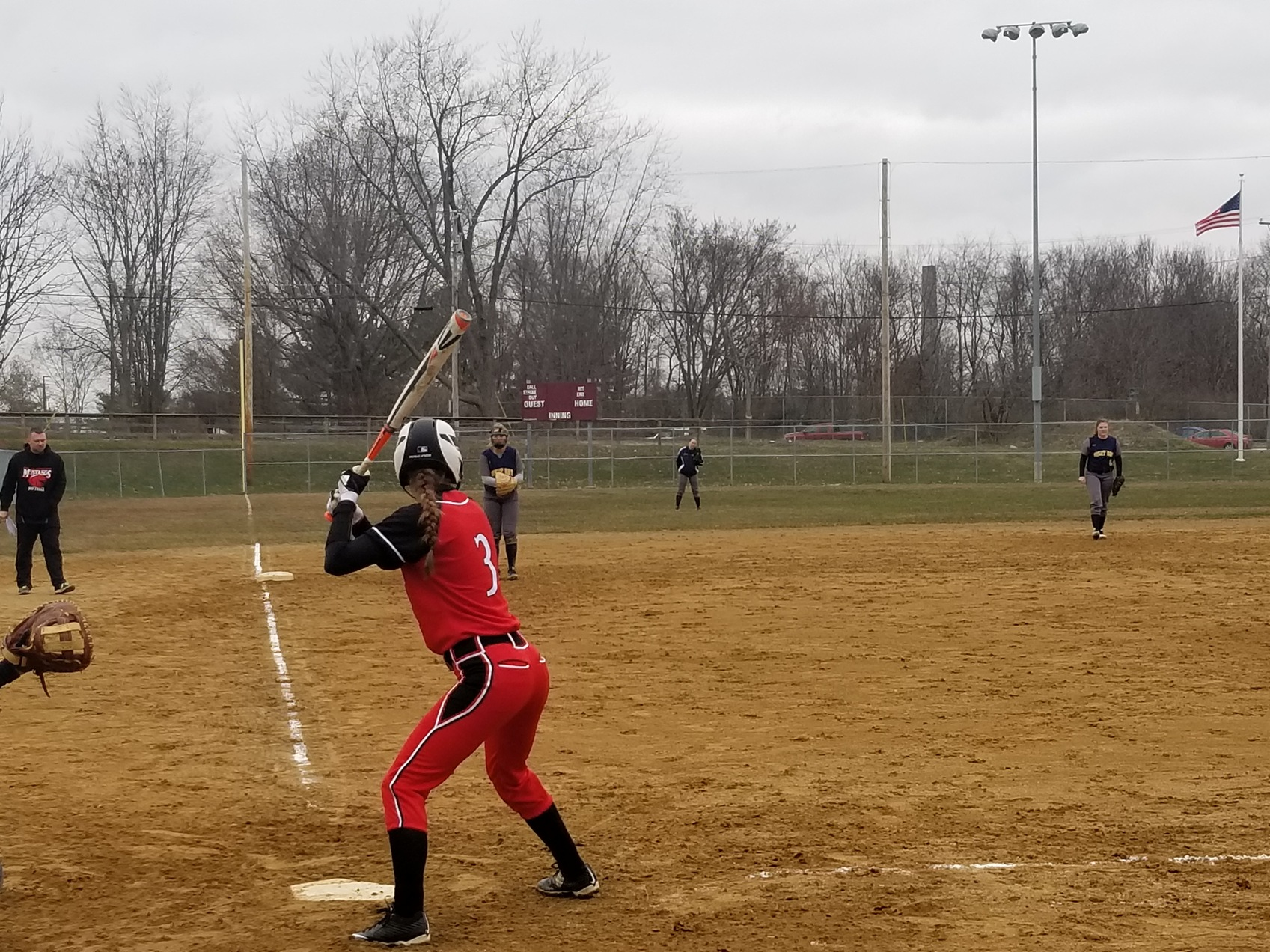 Softball sweeps Great Bay CC in double-header