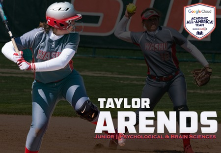 Taylor Arends of Washington University Honored as Google Cloud Academic All-American
