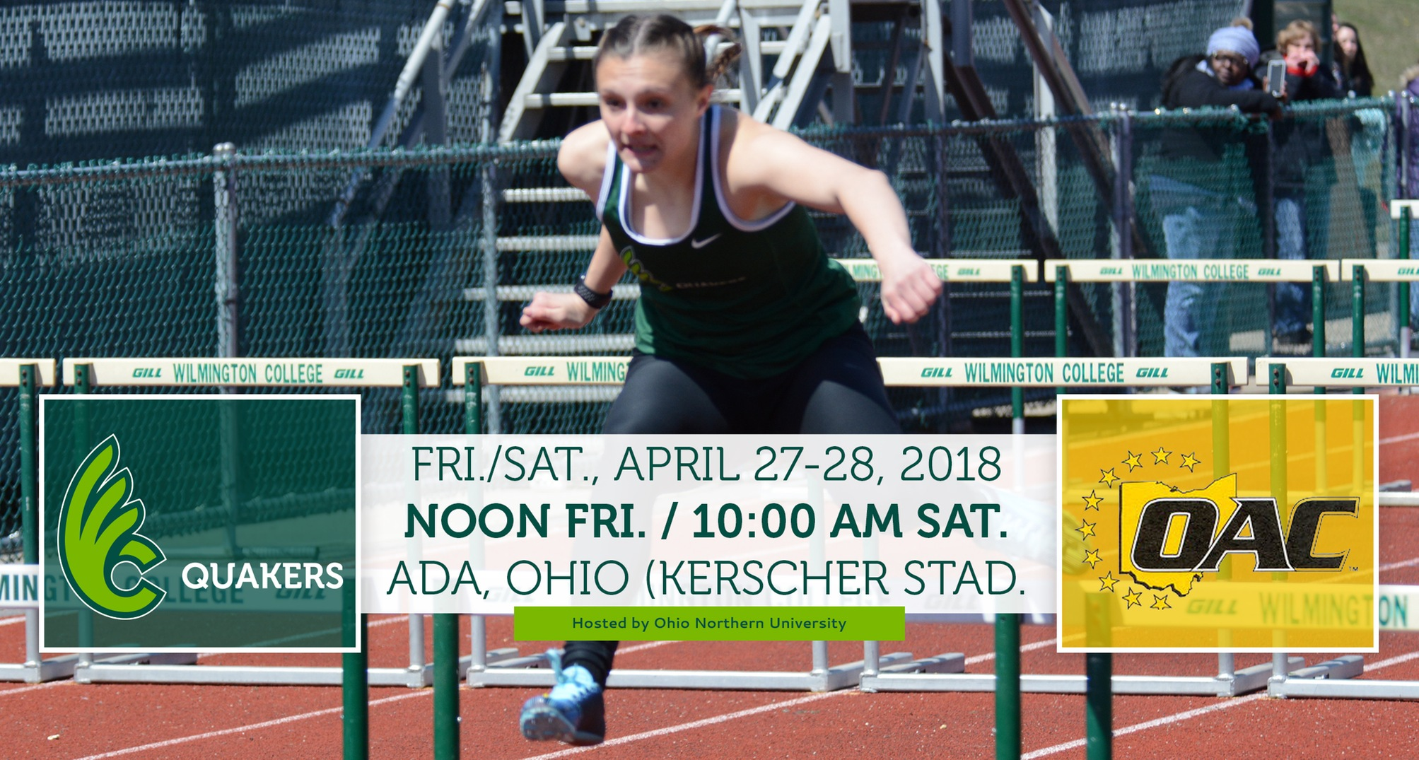Women's Track & Field Heads to Ohio Northern for OAC Outdoor Championships