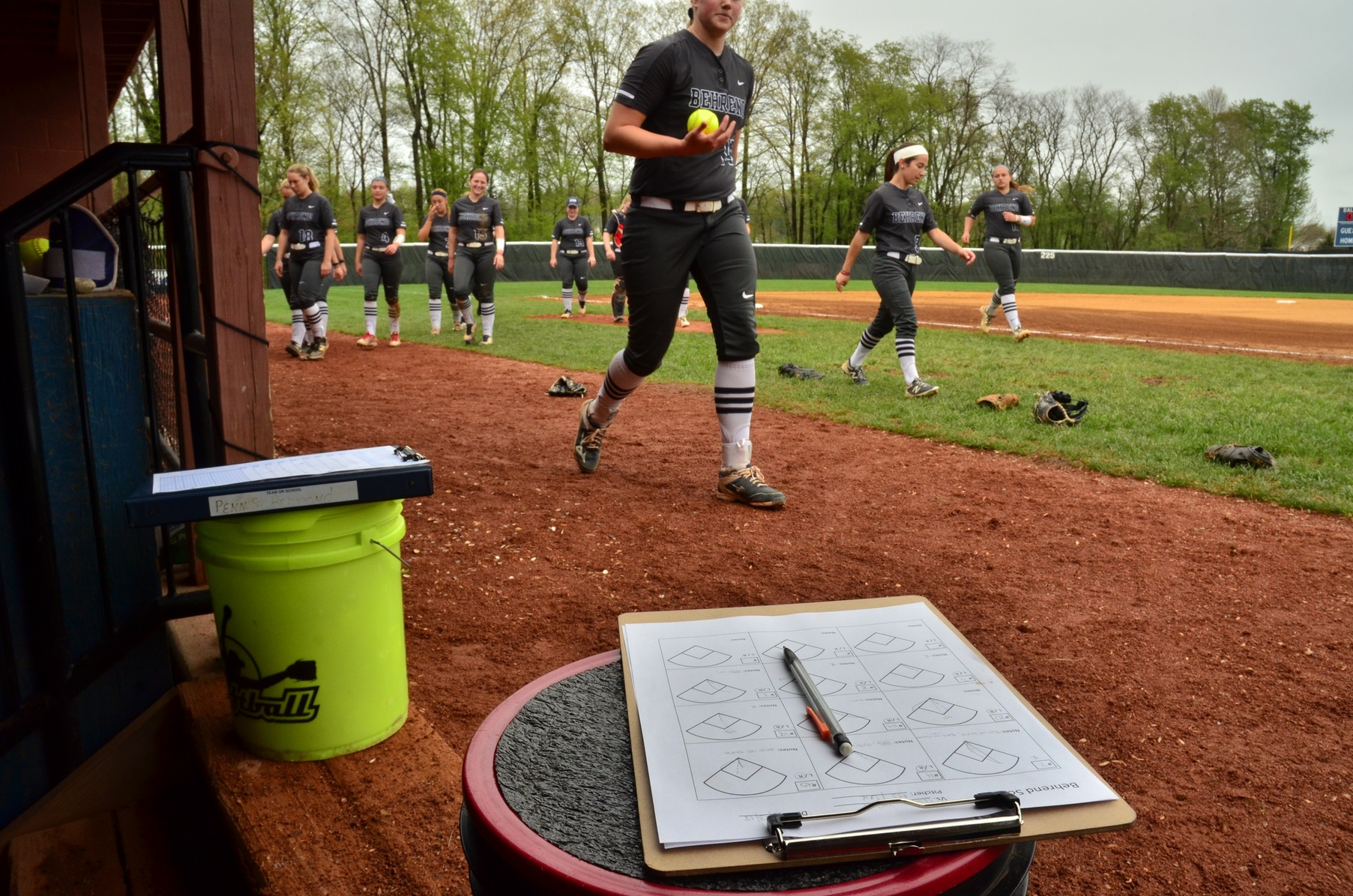Behrend Softball Hosts Winter Clinics