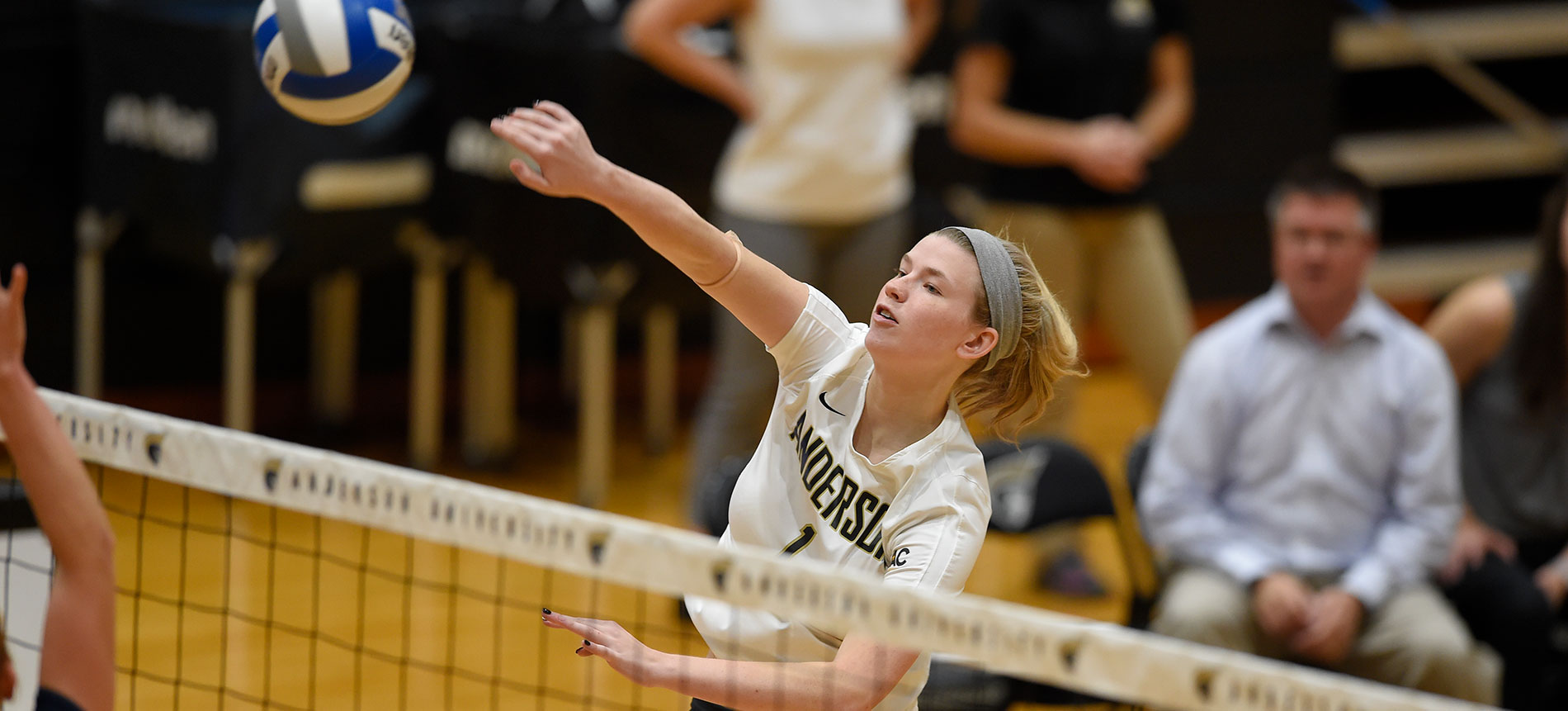 Duty and Kinder Help Lead Trojans to Season Sweep of Coker