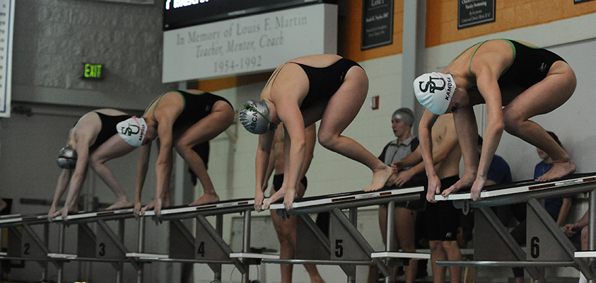 Mustangs Prepare for MAC Swimming Championships This Weekend