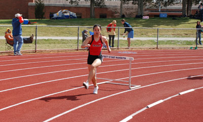 Women's Track Enjoys Great Success at Dragon Invitational