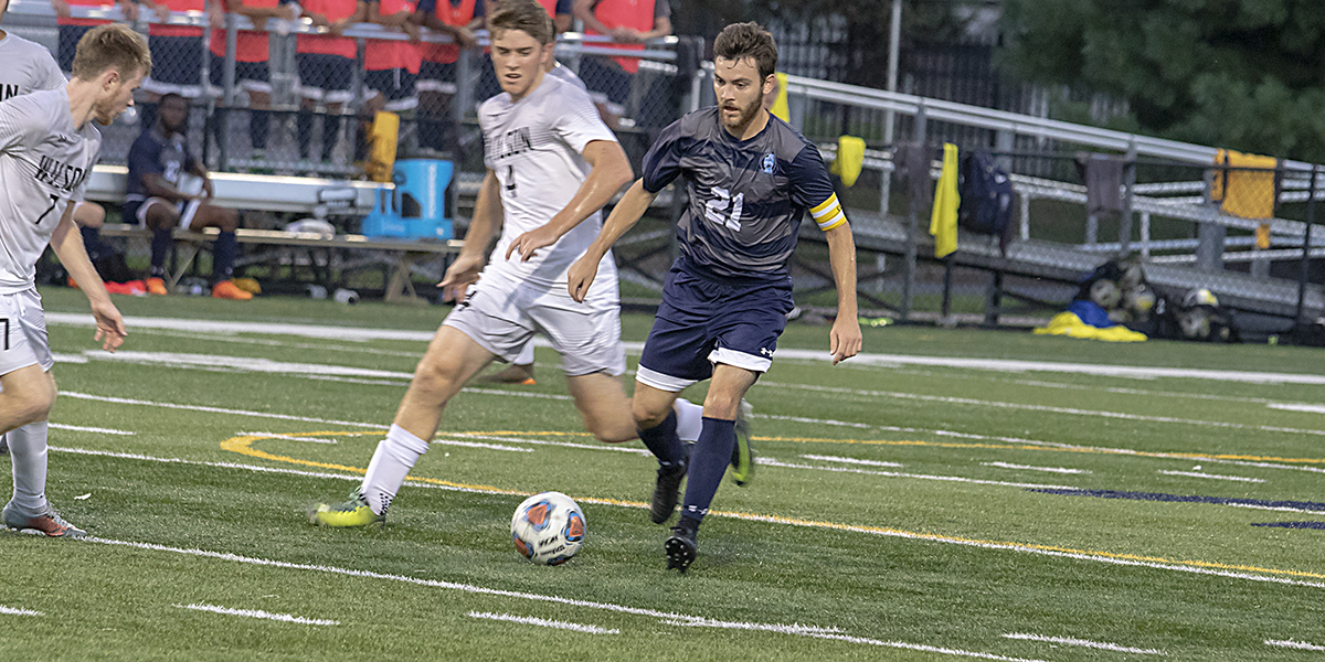 Men's Soccer edged by Cabrini in Atlantic East Semis