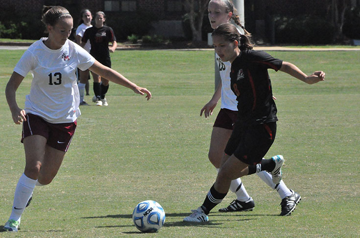 Women's Soccer: Second half surge sends Meredith past Panthers 3-0