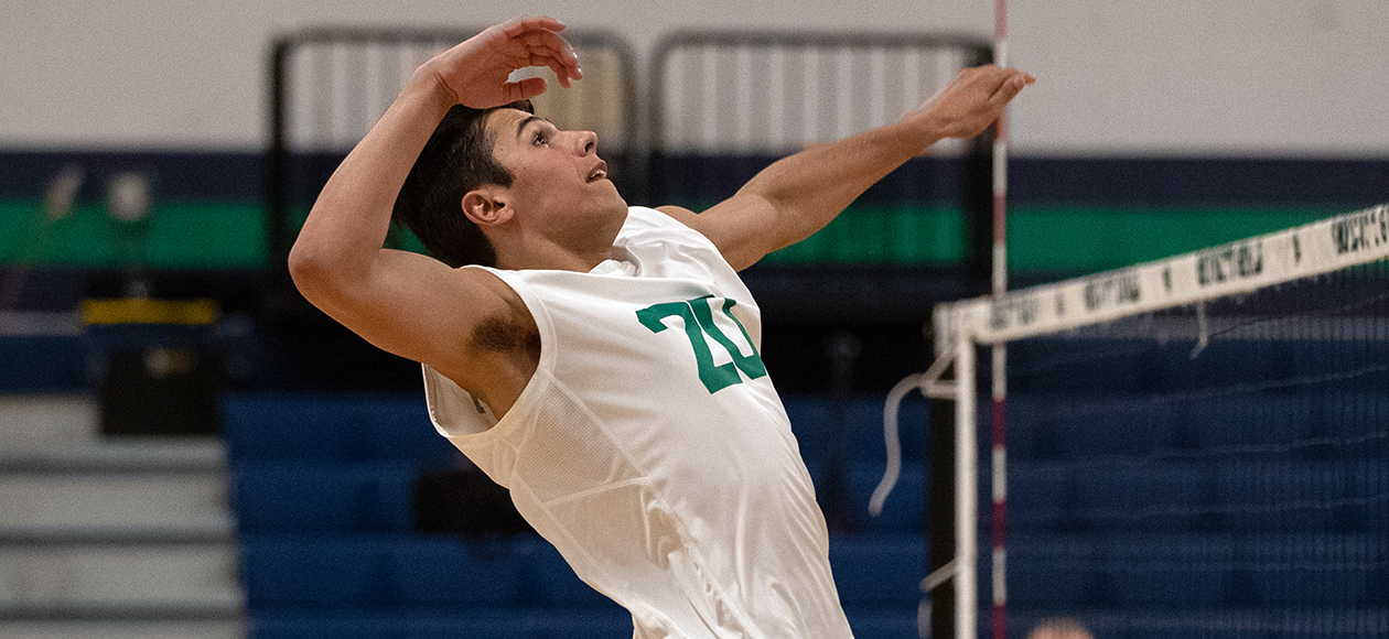 No. 14 Men's Volleyball Blanks Illinois Tech, 3-0