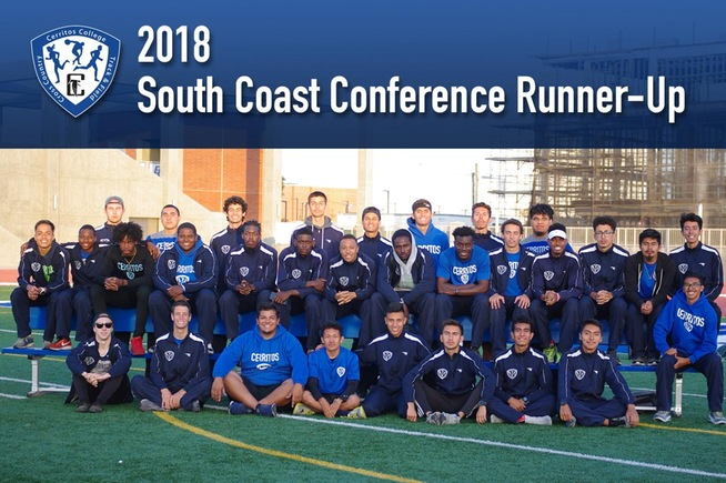2018 Cerritos College Men's Track & Field Team