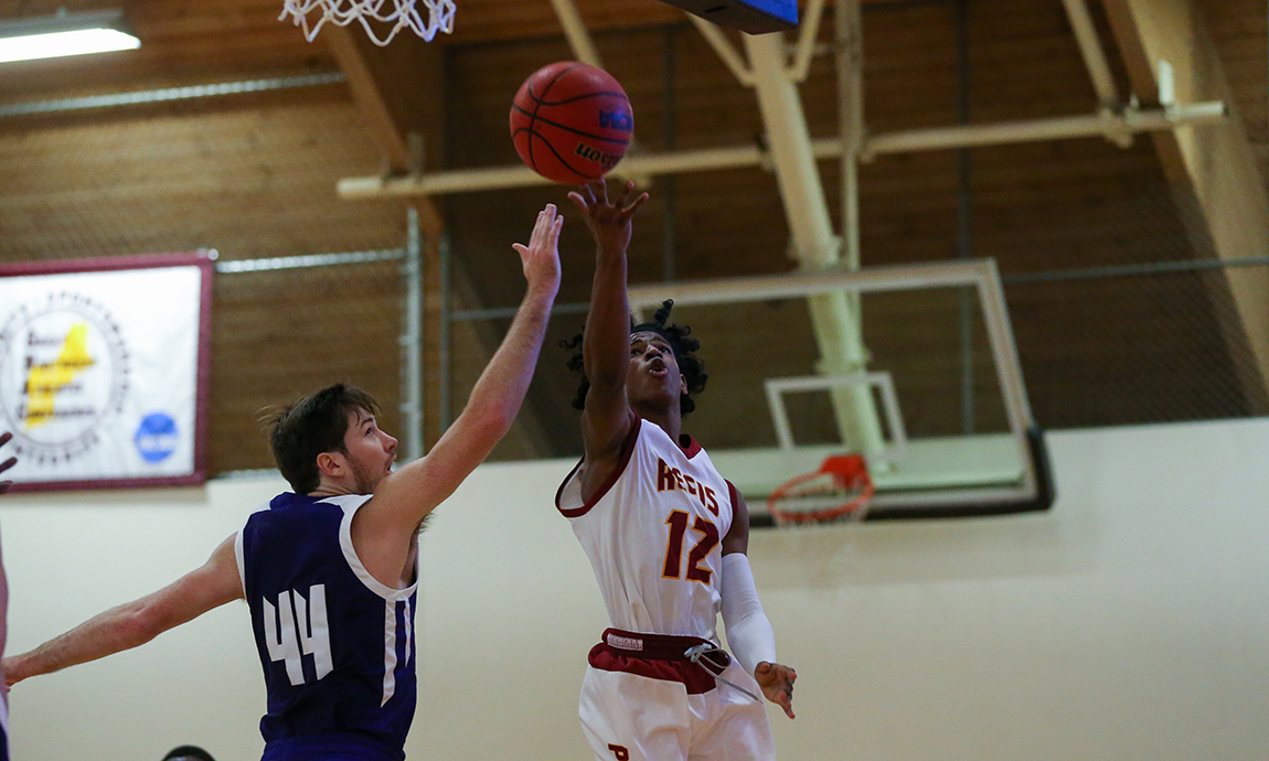 Regis Men's Hoop Earns First Win of Season
