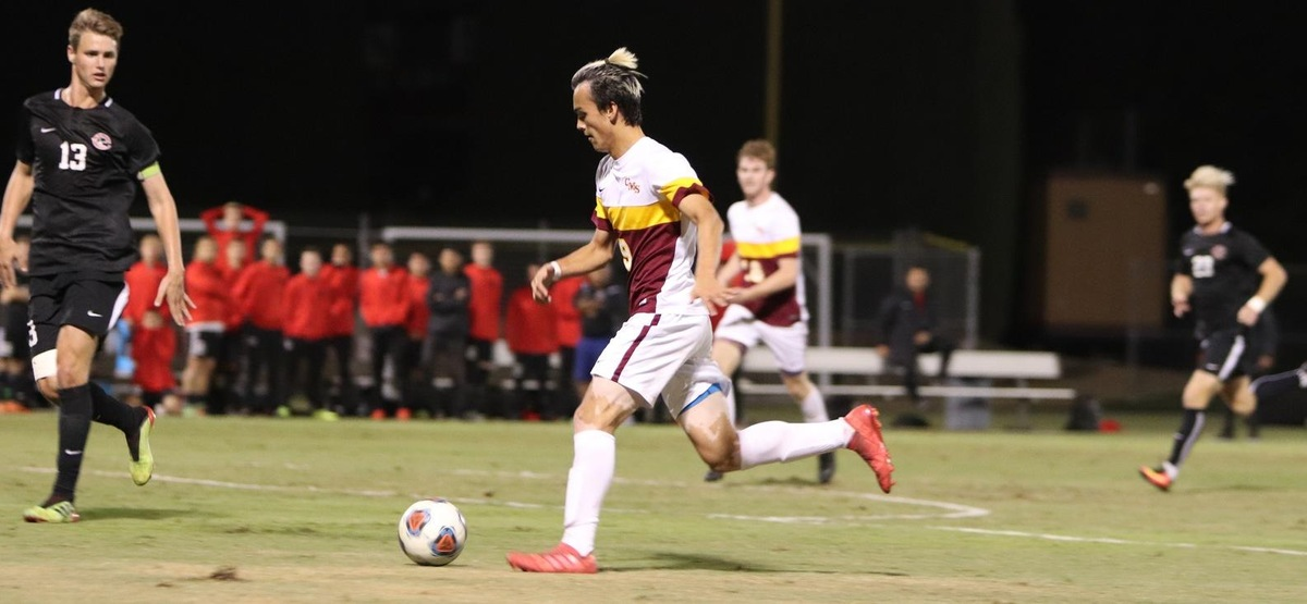 CMS Men's Soccer Falls on Penalty Kicks to Chapman in SCIAC Semifinals