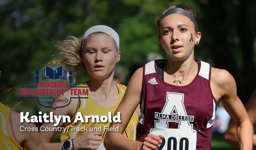 Arnold named to CoSIDA Academic All-District Team