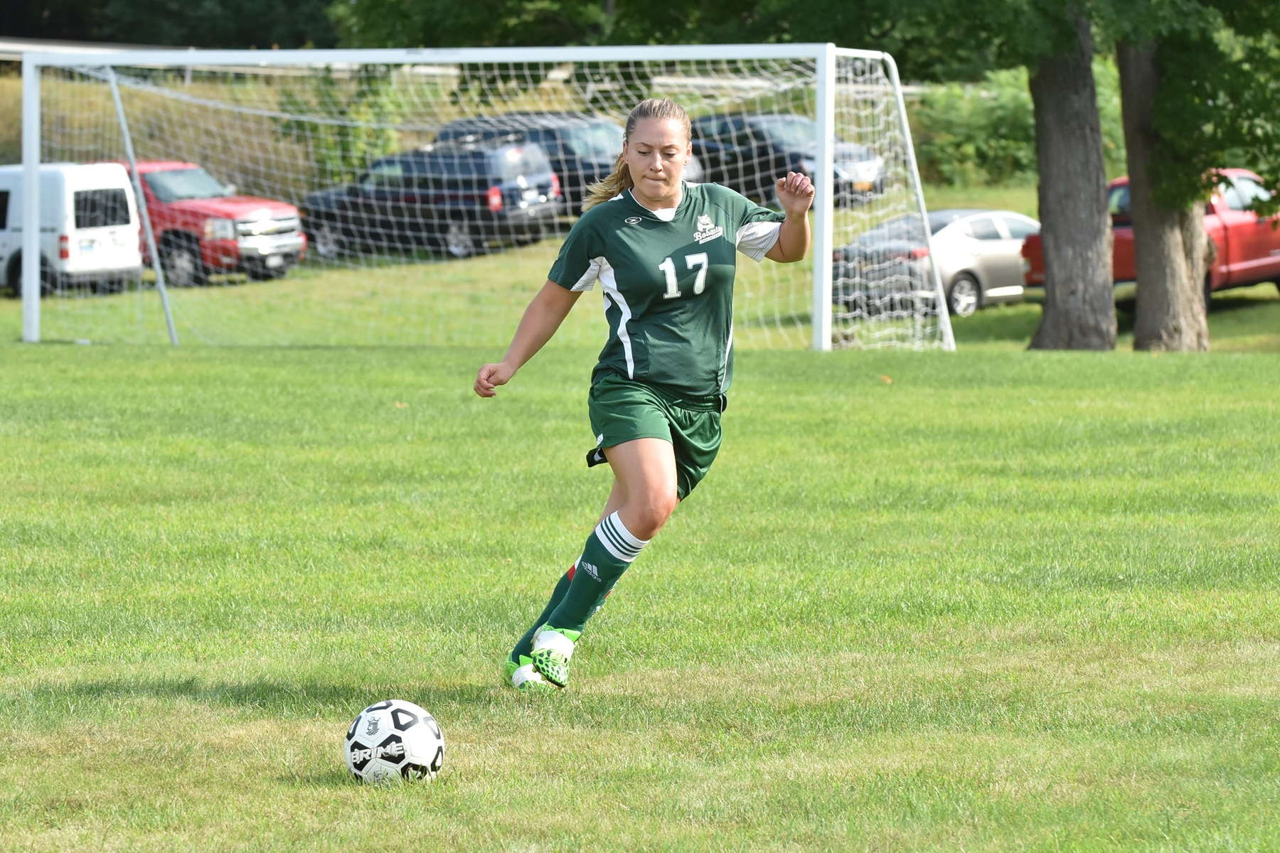 Paul Smith's women's soccer fights hard but falls to Green Mountain
