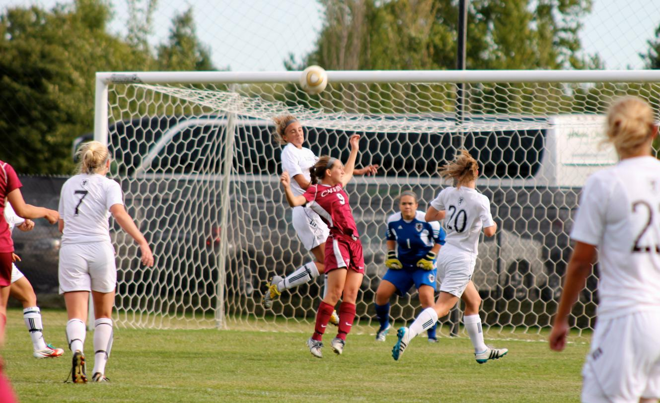 Scots Women's Soccer nips Calvin College 2-1 in overtime on Wednesday