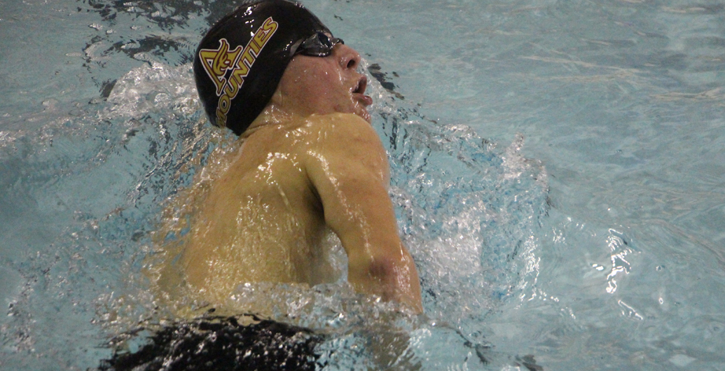 Mounties kick off AUS swim season at UNB
