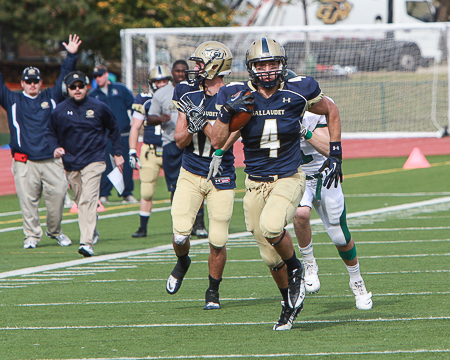 Bison lose ECFC showdown with Castleton State 28-20 on homecoming
