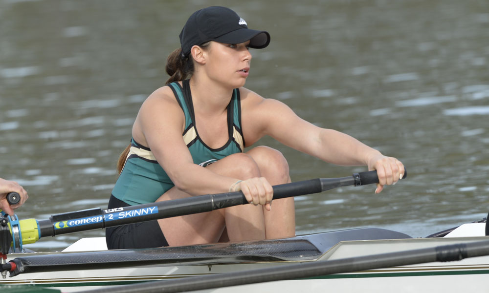 ROWING BEGINS FALL SEASON AT THE HEAD OF THE AMERICAN; NOVICE EIGHT TAKES 2ND PLACE