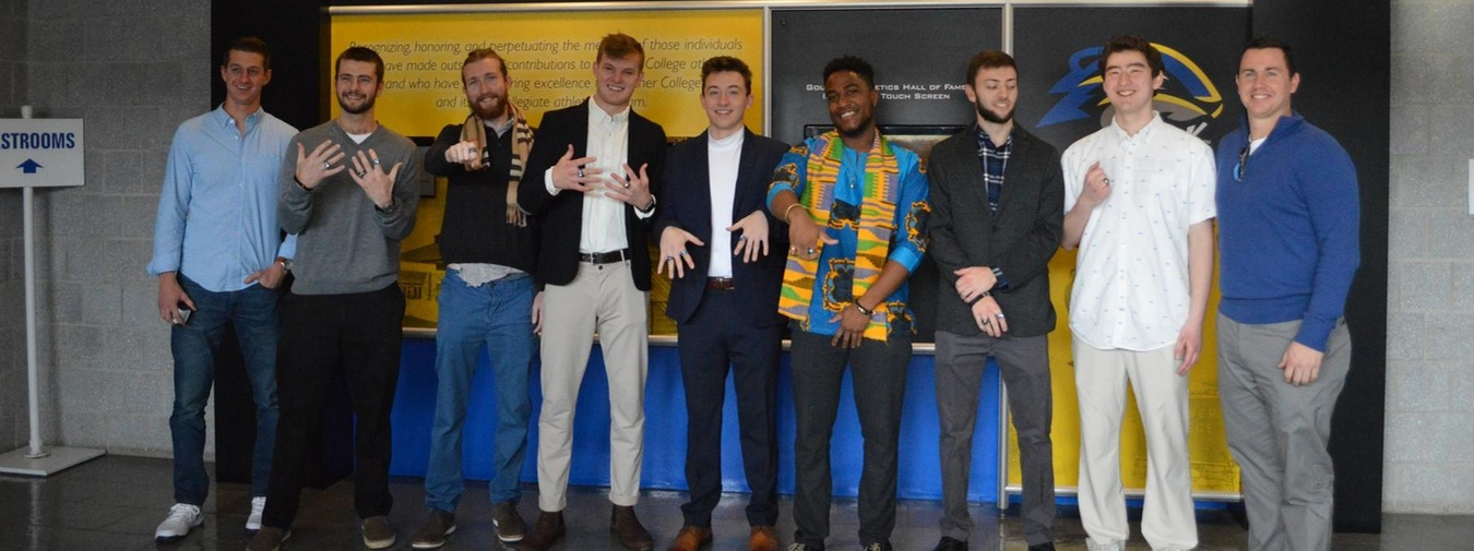 2018 Goucher Men's Tennis Team Received Championship Rings (Photo Gallery)