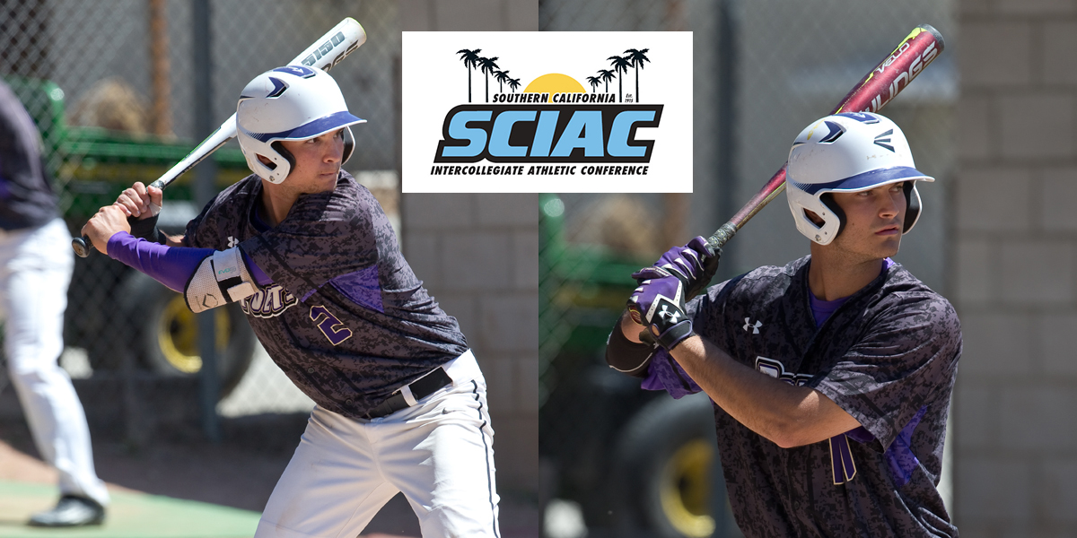 Matt Macey and Andrew Lamar named 2nd Team All-SCIAC