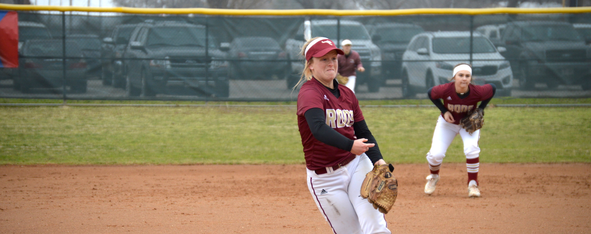 Softball Falls Twice at Centenary
