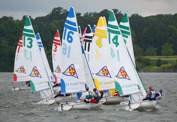 Sailing Ninth After Day One of Gill National Championship Finals